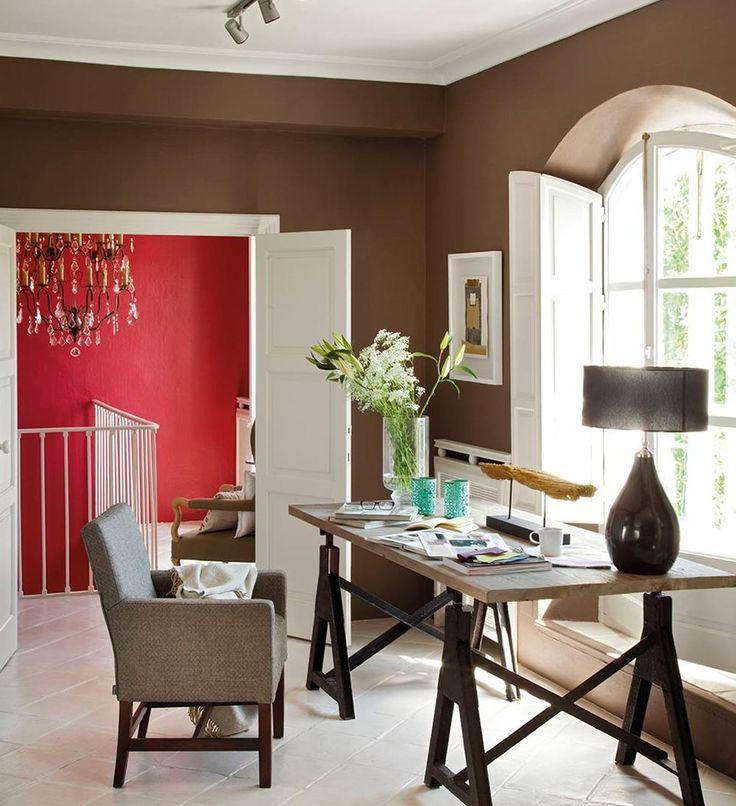 Las 25 mejores ideas sobre paredes de color chocolate - Trabajos de decoracion de interiores ...