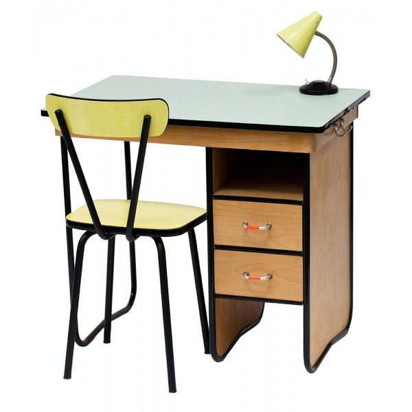bureau enfant ann es 50 costello vintage kids vintage. Black Bedroom Furniture Sets. Home Design Ideas