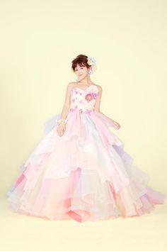 THE HANY リシェル ピンク|THE HANYドレス|岐阜・名古屋の貸衣裳・ドレスレンタル ウェディングプラザ二幸