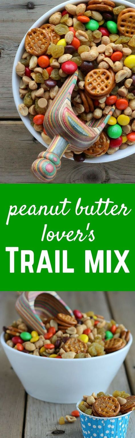 This peanut butter trail mix is all the peanut butter goodness you could want and more. If you know (or are) someone that loves peanut butter, you need to make this happen. Peanut, peanut butter.