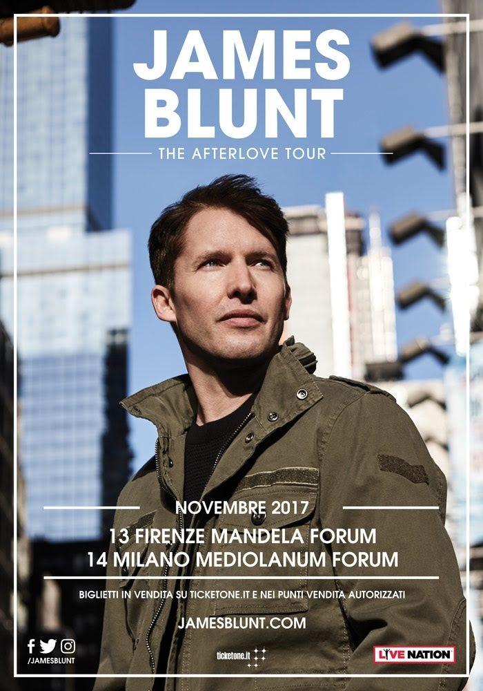 Firenze, il tour mondiale di James Blunt passa dal Mandela a novembre - 055Firenze