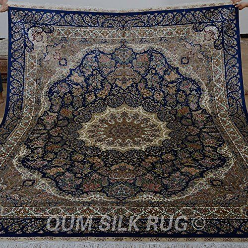 Handmade Carpet Quality Rugs Large Directly From China Persian Silk Rug Suppliers Yilong Qum Antique Medallion Kashmiri