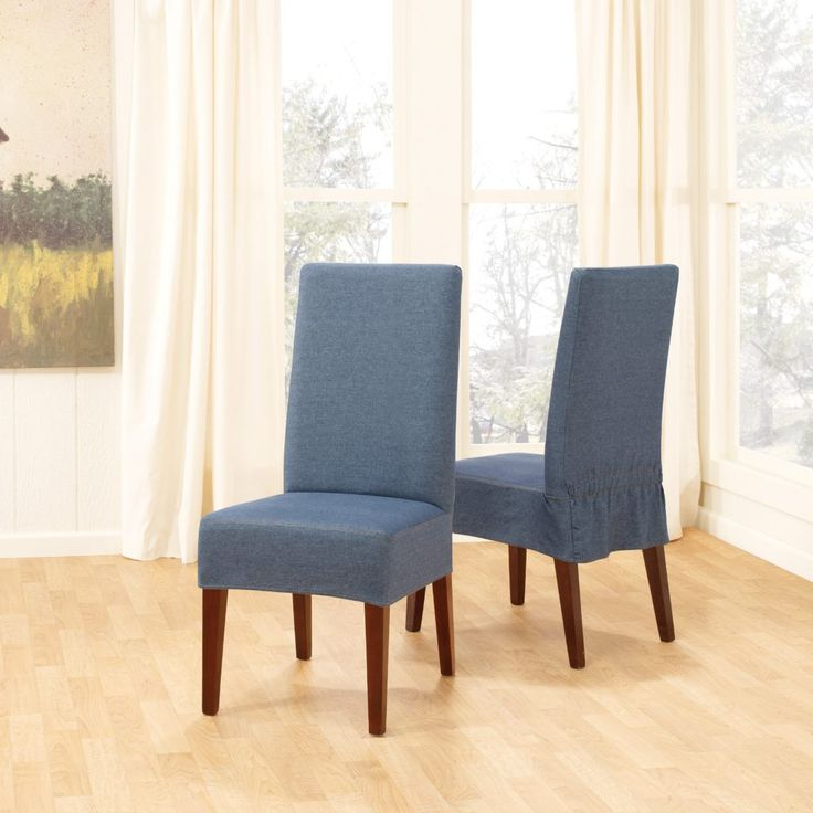 25+ Best Ideas About Dining Room Chair Slipcovers On