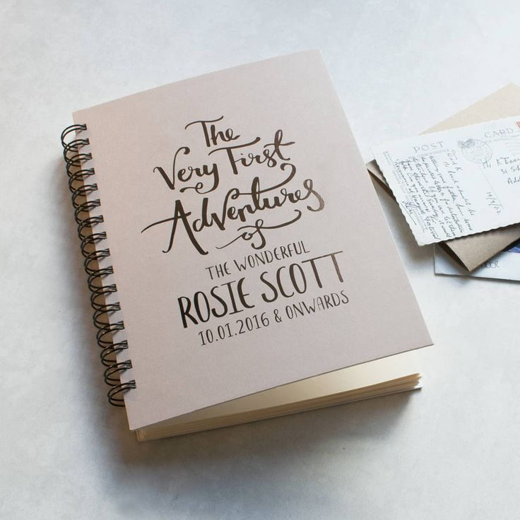 First Adventures New Baby Memory Book