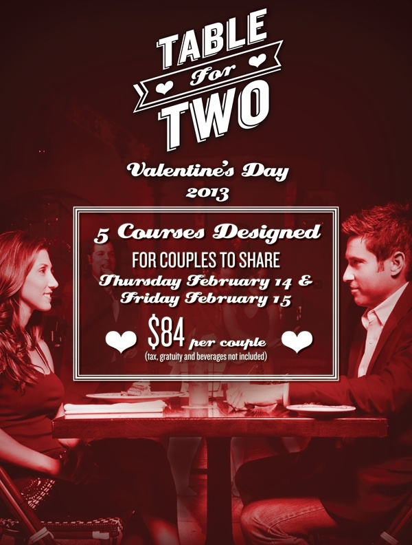Valentine S Day At Cuba Libre Restaurant Menu Made For Two