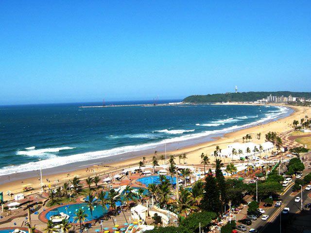 Durban beach on GlobalGrasshopper.com