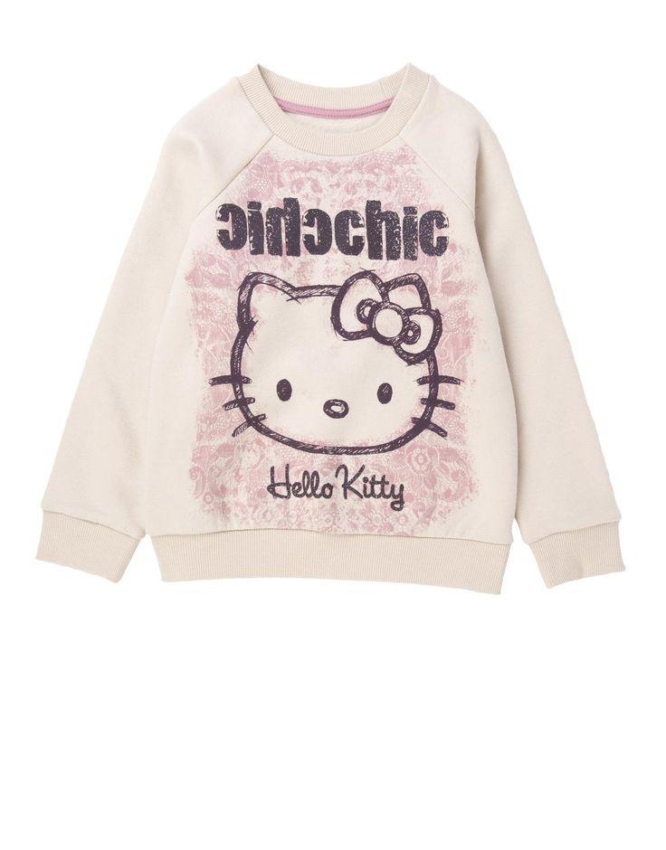 Hello Kitty Raglan Top