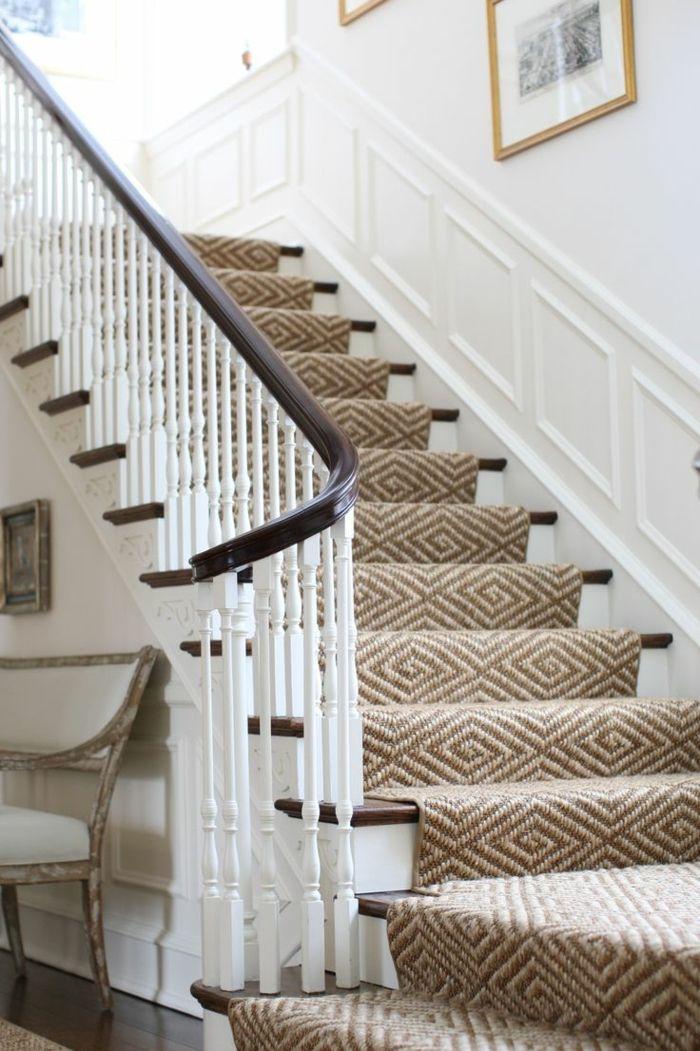 le tapis pour escalier en 52 photos inspirantes moquette escalier maclou et int 233 rieur