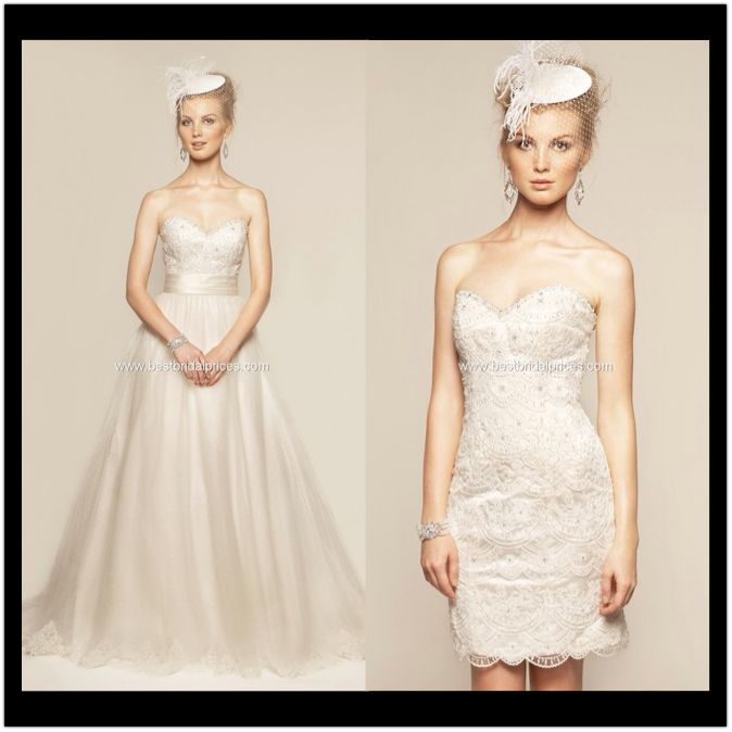 1000 Images About Convertible Wedding Dresses On Pinterest