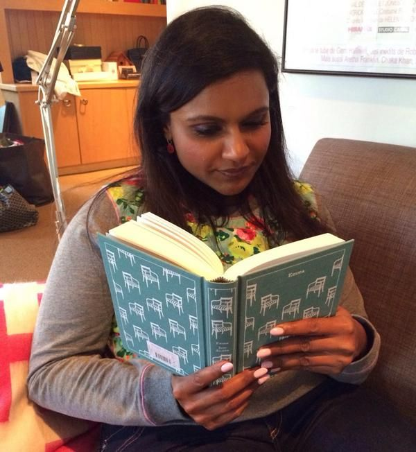 Mindy Kaling is witty and charming... and she's a big reader. Here are a few of the books she's recommended over the years.