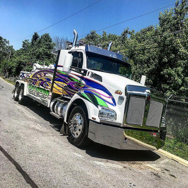 #t880 #custom #cummins #towtrucks #towing #wrecker