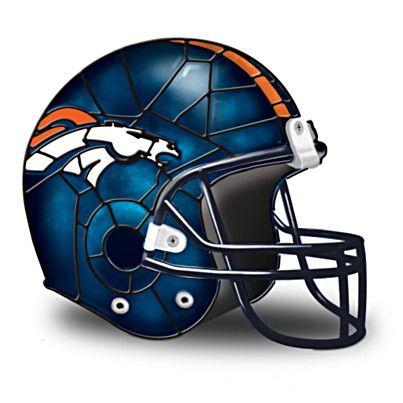 Denver Broncos Football Helmet Accent Lamp $79.95