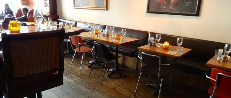 Mata Hari is a comfy restaurant and bar in the heart of the city's Red Light District.