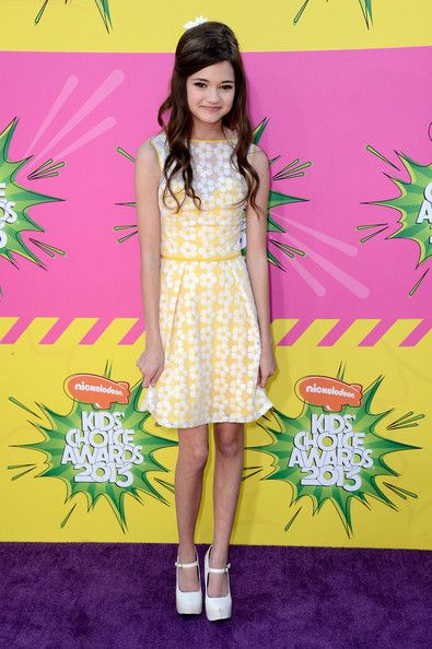 Nickelodeons 26th Annual Kids Choice Awards - Arrivals - Ciara Bravo