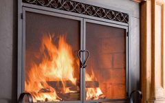 Fireplace Screens With Doors Fireplace Screens | Fireplace Covers | Plow & Hearth