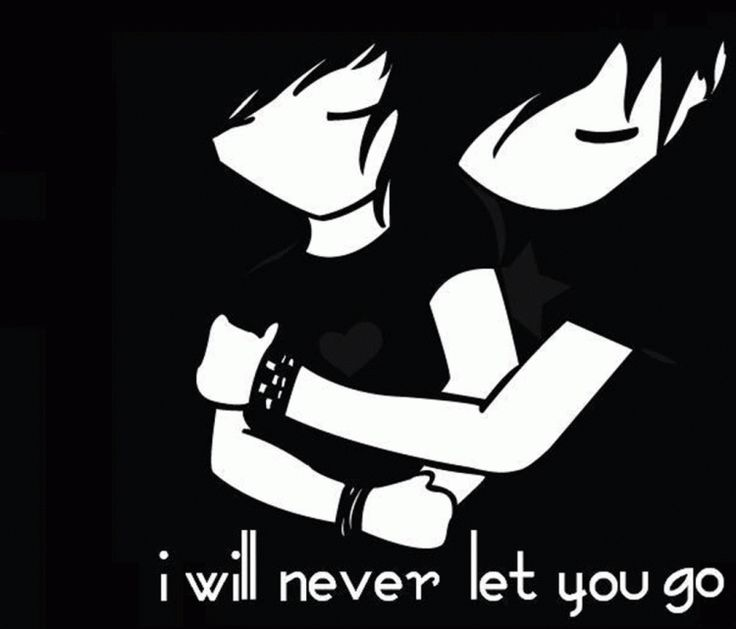 Emo Love Quotes: Emo Cartoon Couples In Love - Top