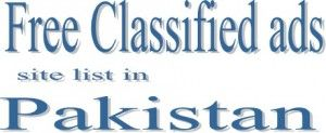 Top free classified ads website list for advertising in Pakistan sell cars and others