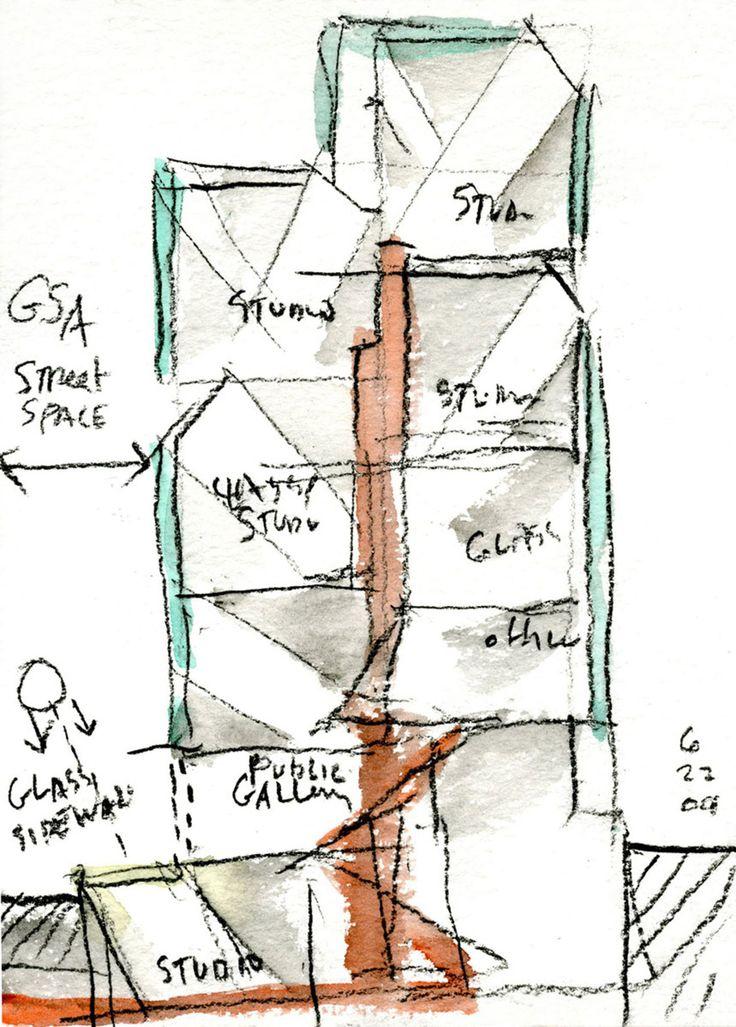 Steven Holl Architects, Iwan Baan · Seona Reid Building, Glasgow School of Art ·…