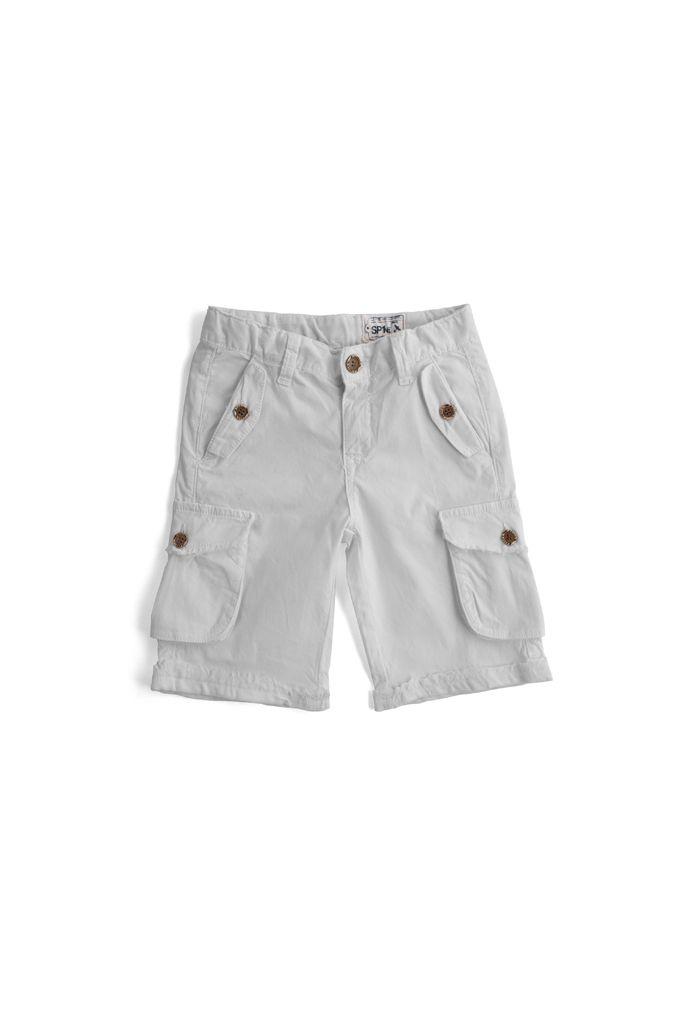 bermuda short SP1NE 3170933 bianco