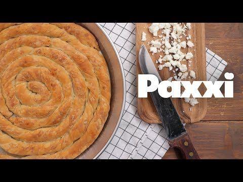 Στριφτή τυρόπιτα Κοζάνης κιχί — Paxxi
