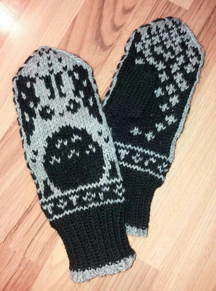 Totoro mittens ❤