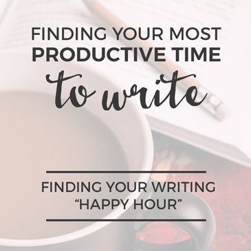 Finding Your Most Productive Time to Write