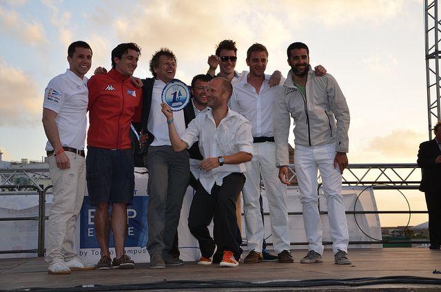The ESCP Europe 2013 Regatta - the winning team!