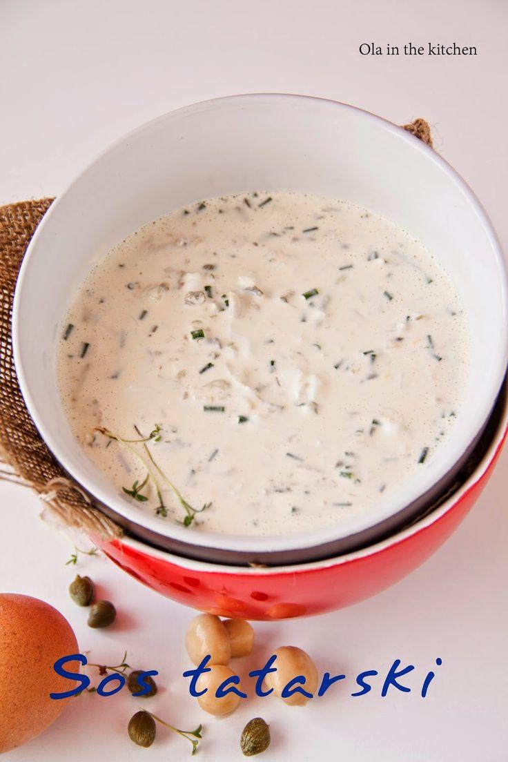 Ola in the Kitchen: Sos tatarski