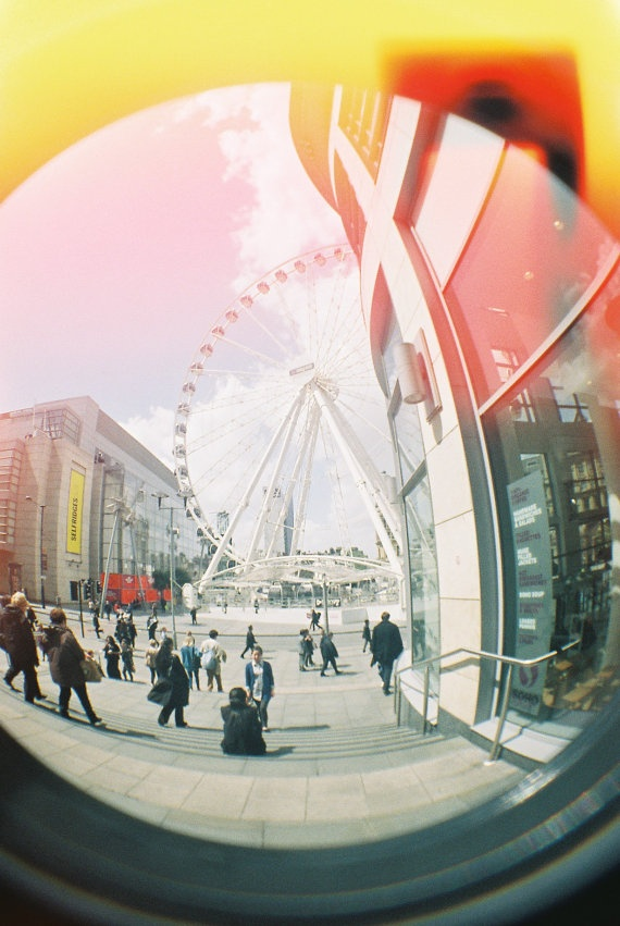 Manchester City Centre  #ridecolorfully