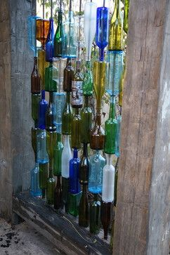 Privacy Screens Glass Bottles And Screens On Pinterest