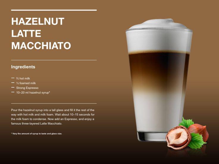 Hazelnut Latte Macchiato