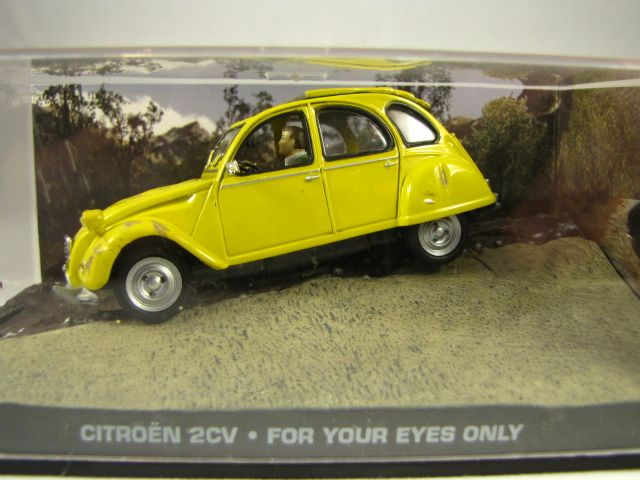 citroen 2cv james bond schaal 1 43 uitgever norev bouwjaar 2 cv miniatuur pinterest. Black Bedroom Furniture Sets. Home Design Ideas