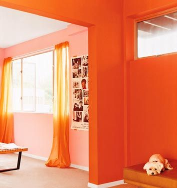 Different Shades Of Same Color In Adjacent Rooms
