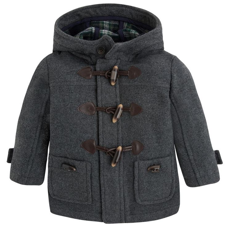 Mayoral Boys Wool Duffle Coat