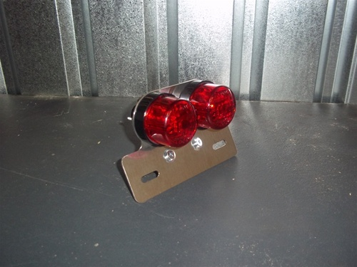 $45 for taillight and plate bracket