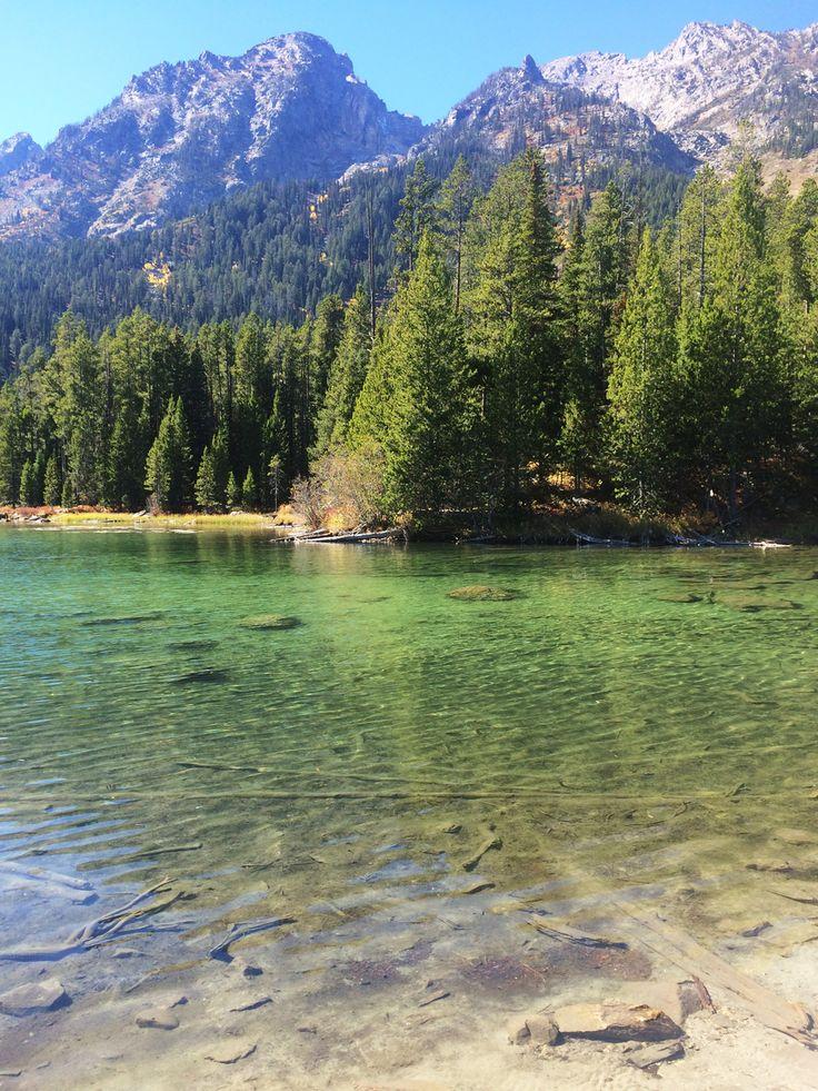 String Lake in Grand Teton National Park