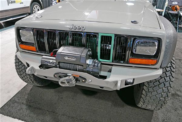 Jeep Jk Xj Cherokee Pathkiller Jp Magazine Favorite Jeep Of Day 2 2016 Sema Front Photo 215037680