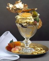 £1000 Ice Cream Sundae...could you actually eat it? (Not on the menu @ Moorfield)Tasty Recipe, Desserts Tops, Food, Ice Cream Sundaes, Golden Opulent, Opulent Sundaes, Edible Gold, 1000, Icecream