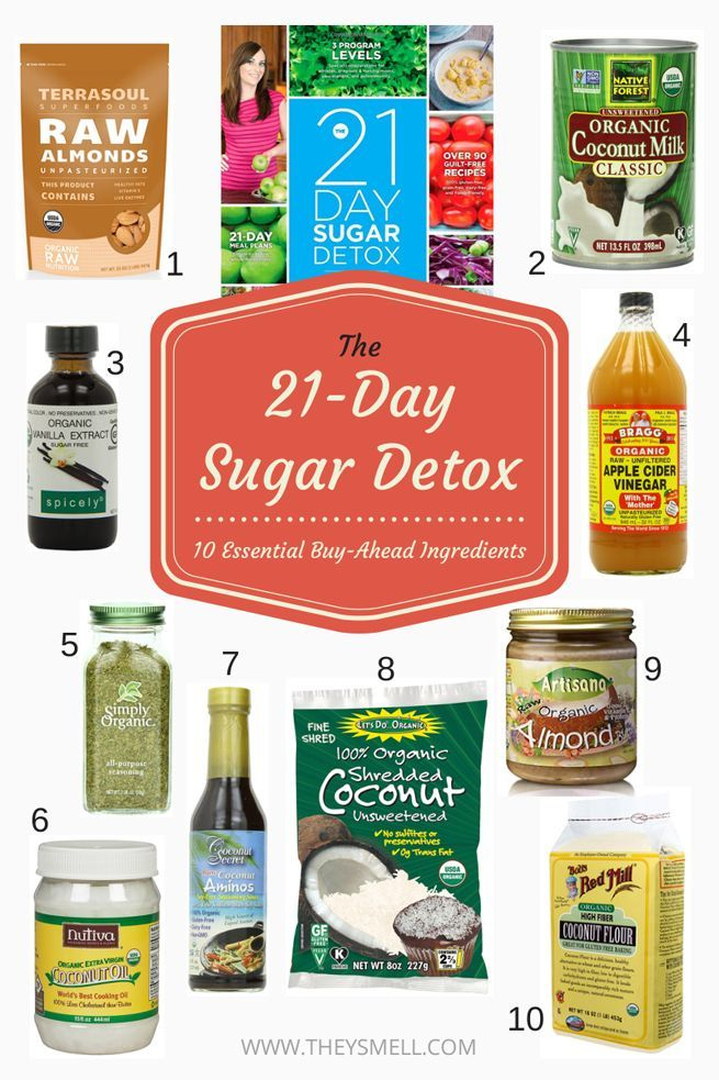 the 21 day sugar detox 10 essential buy ahead ingredients vintage style best diets and to. Black Bedroom Furniture Sets. Home Design Ideas
