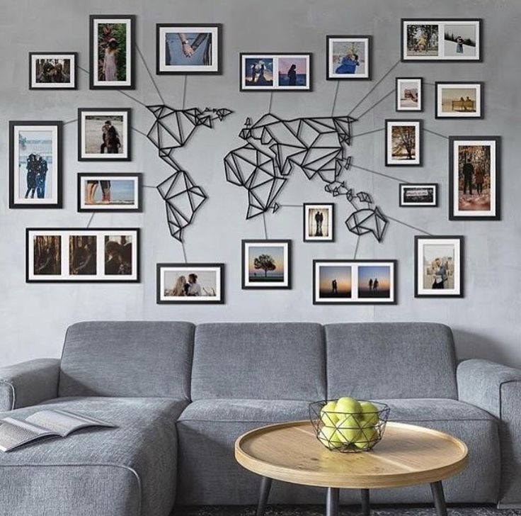 Neodolce World Map Metal Neo Dolce For The Nest In