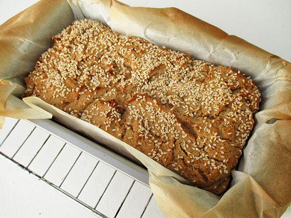 Vegan Gluten-free Oil-free Quinoa Home-Made Bread Recipe