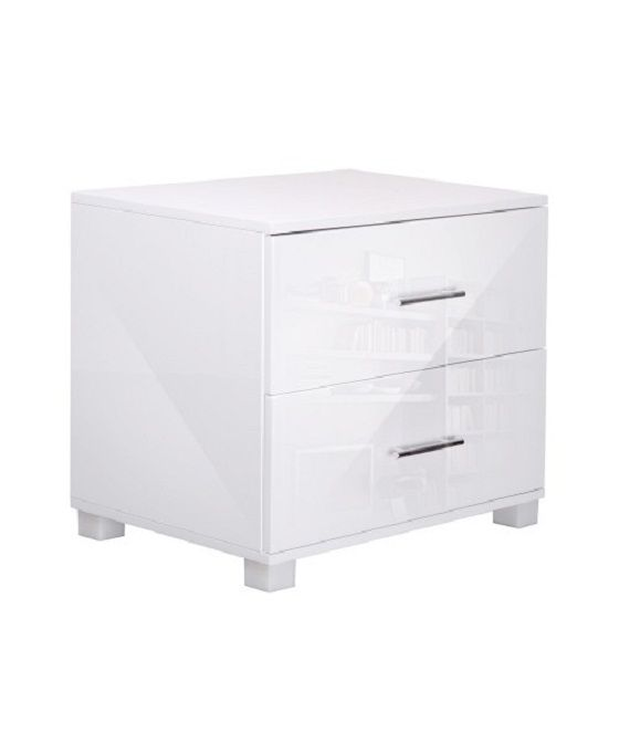 White Bed Table Part - 30: High Gloss White Bedside Table In Australia - Flipdals