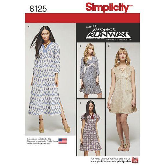 24 besten Simplicity runway project patterns Bilder auf Pinterest ...