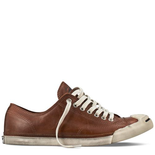 Converse - Jack Purcell Low Profile Leather - Low - (British Tan) style: 127790C | 75.00 from Converse UK