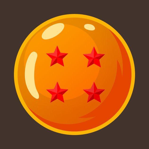 Esfera Del Dragon De Cuatro Estrellas Dragon Ball-Goku's Four Star Dragon Ball