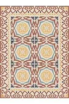 Geheel waterbestendig en afneembaar met 'n vochtige doek. De karpetten van Telki Milano zijn hip! Dit patroon is een echte eye-catcher. In de woonkamer, slaapkamer, badkamer of in de keuken.