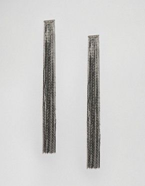 Серьги и каффы   Серебряные и золотые серьги, серьги‑гвоздики и серьги‑подвески   ASOS