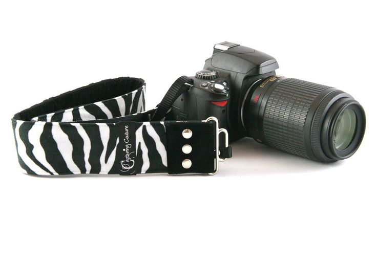 New Zealand Capturing Couture Zebra Camera Strap Accessories