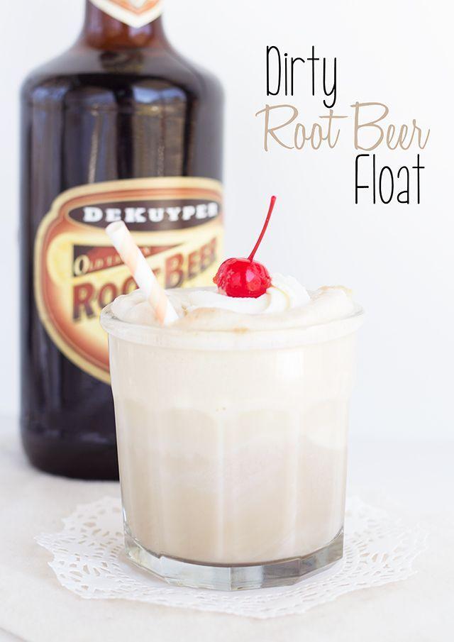 Dirty Root Beer Float