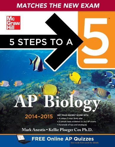94 best ap biology images on pinterest biology lessons ap biology 5 steps to a 5 ap biology 2014 2015 edition 5 steps to fandeluxe Images